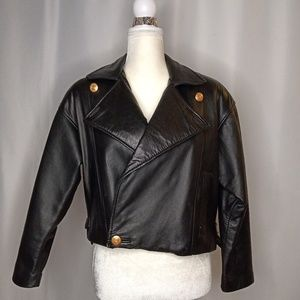 EXPRESS Avenue De L'Opera Motorcycle Jacket Sz XS